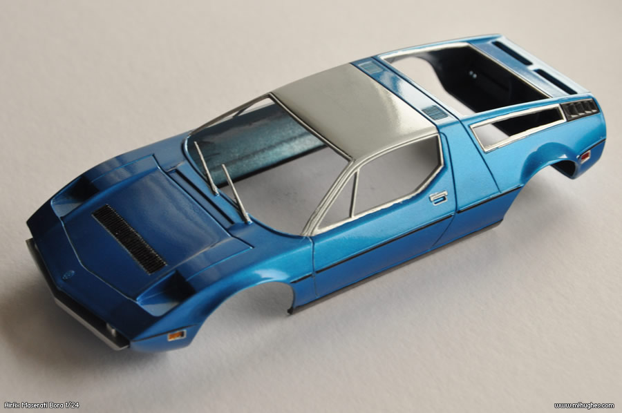 Airfix Maserati Bora 1 24 Scale Model Kit Hotographs