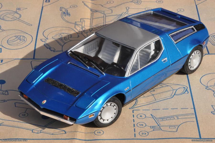 8 airfix maserati bora 1 24 maserati models for Kit portico anteriore in vendita