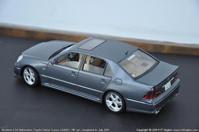 Aoshima 1 24 Toyota Celsior Vip Car With Tutorial Links