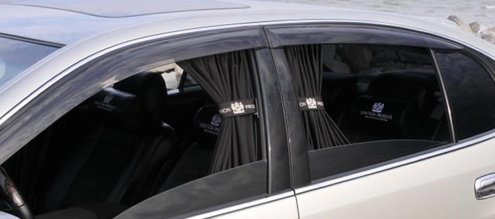 Curtains Ideas car interior curtains : Building A VIP car - The Toyota Celsior interior - glass, roof ...