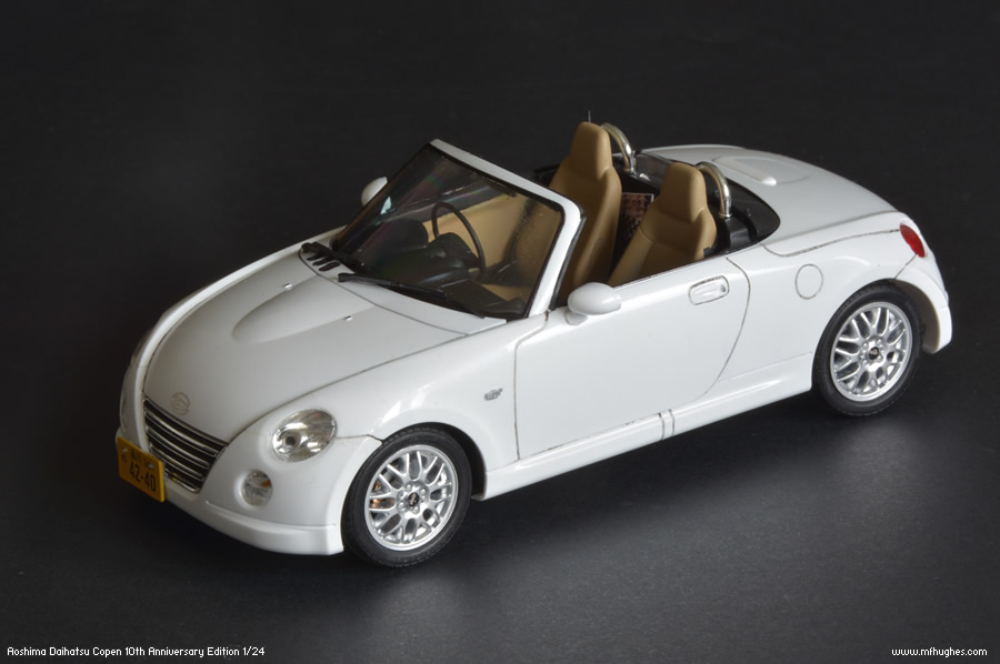 Aoshima Daihatsu Copen Model Kit 1 24 Scale Photographs