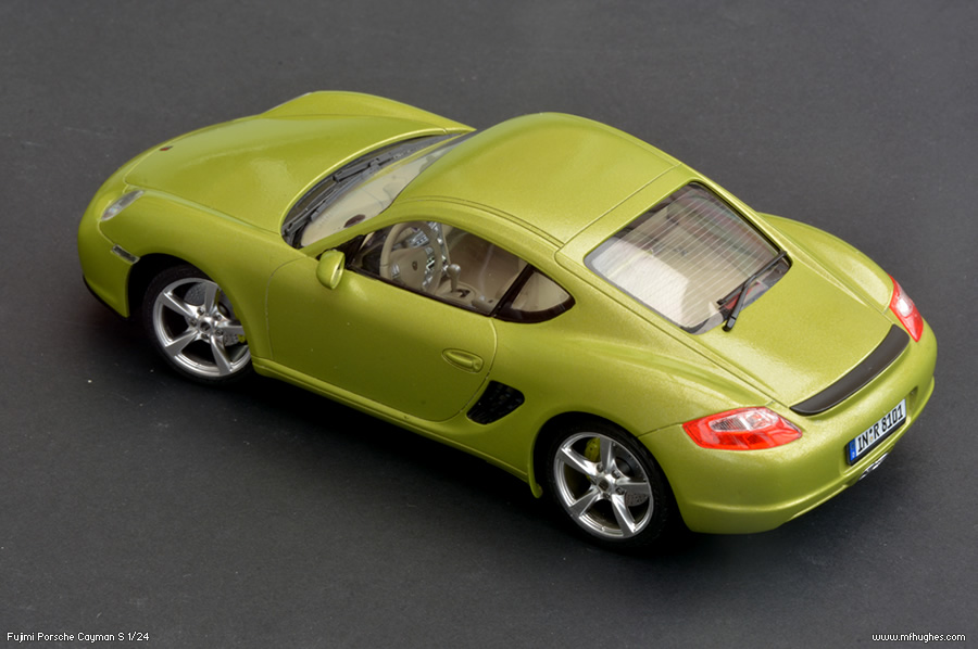 Fujimi Porsche Cayman S Model Kit 1 24 Scale Photographs
