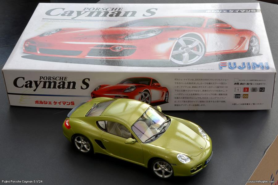 Fujimi Porsche Cayman S Model Kit 1 24 Scale Photographs