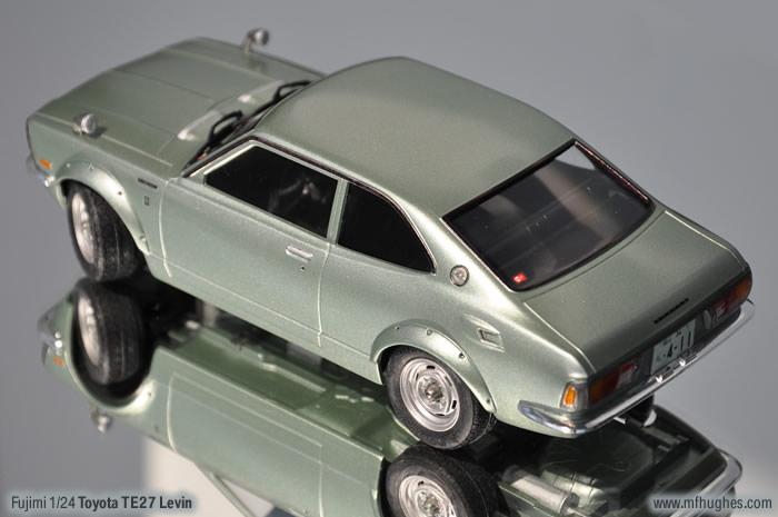 Fujimi Toyota Te27 Levin Corolla 1 24 Scale Photographs