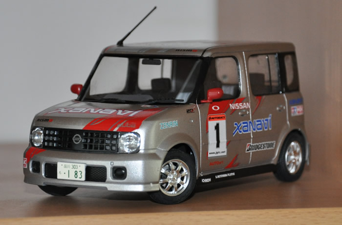 Fujimi Nissan Cube Xanavi Nismo 1 24 Scale Photographs