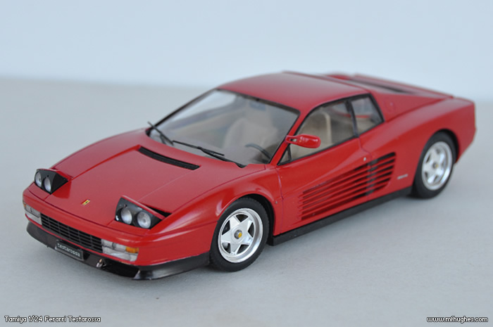 Completed 124 Tamiya Ferrari Testarossa  Page 1  Scale Models
