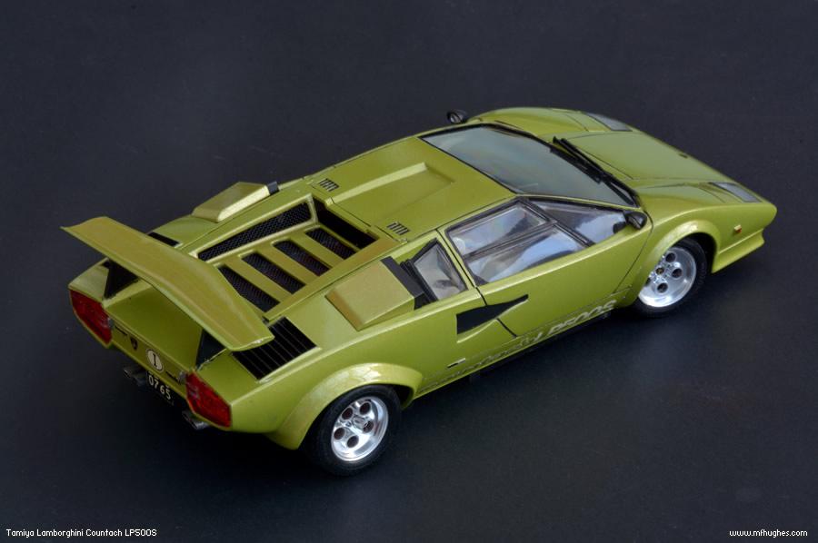 Tamiya Lamborghini Countach Lp500s 1 24 Scale Photographs