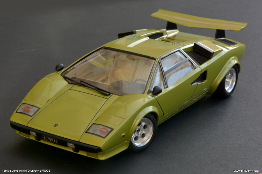 completed tamiya lamborghini countach lp500s page 1. Black Bedroom Furniture Sets. Home Design Ideas