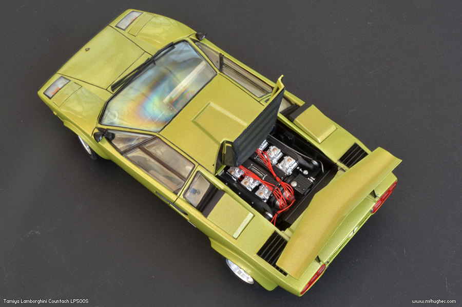 completed tamiya lamborghini countach lp500s page 1 scale models piston. Black Bedroom Furniture Sets. Home Design Ideas