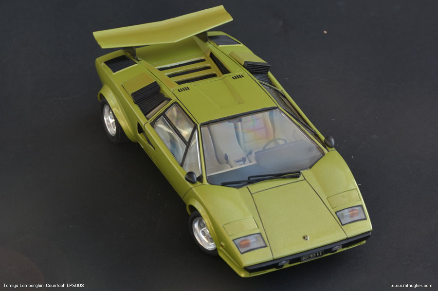 completed tamiya lamborghini countach lp500s page 1 scale models pistonheads. Black Bedroom Furniture Sets. Home Design Ideas