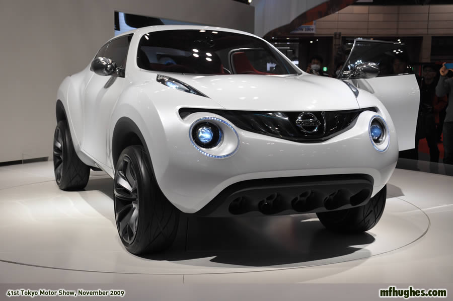 Nissan Juke Concept Car At The 41st Tokyo Motor Show 2009